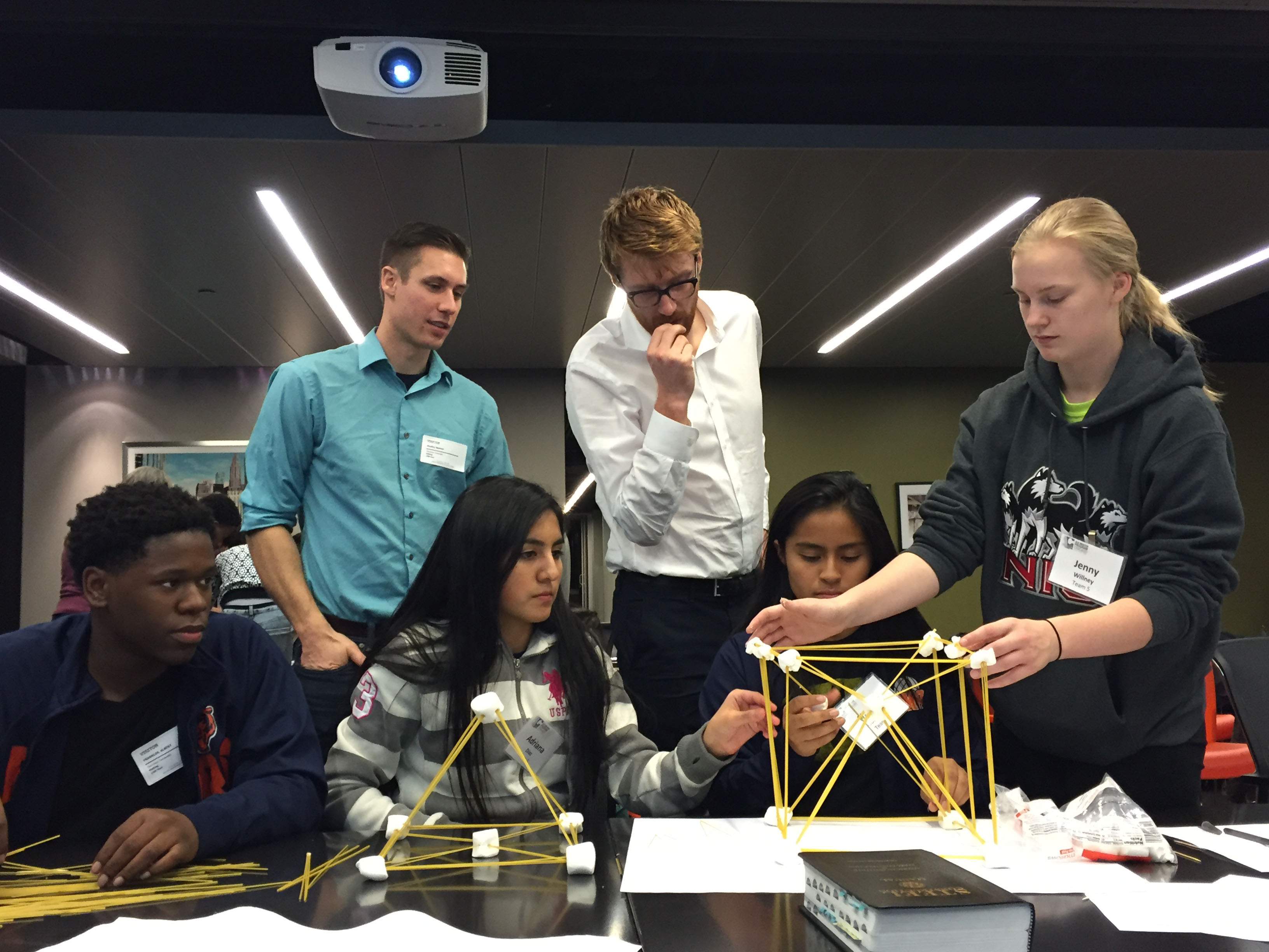 Team 5 Marshmallow Towers